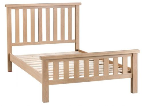 Oxford Oak Double Bed